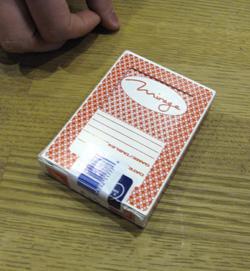 Mirage-kasinon korttipakka