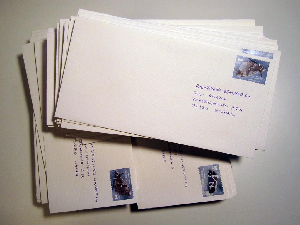 Kirjeen Osoite