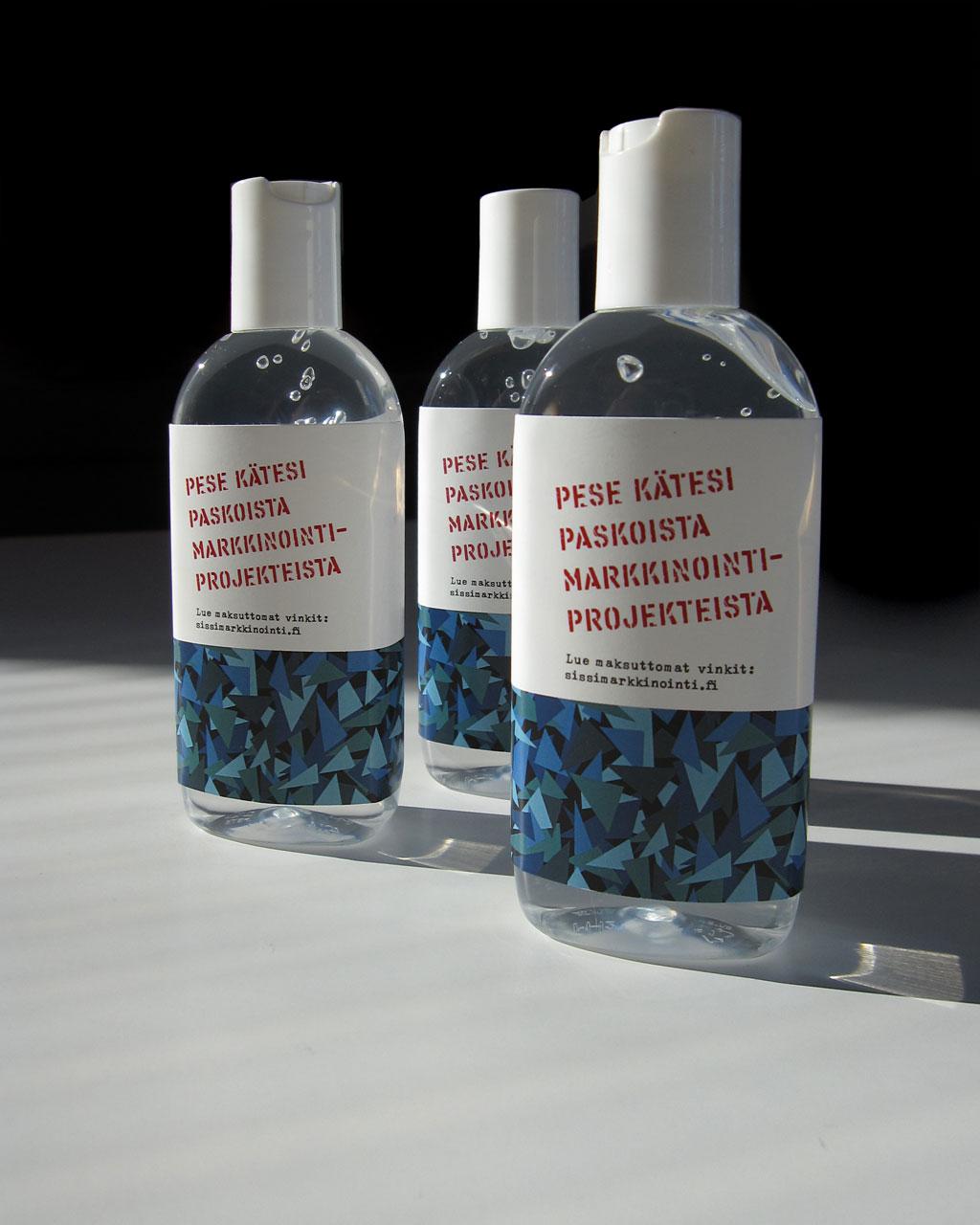 Sissihuuhteella peset kätesi paskoista markkinointiprojekteista