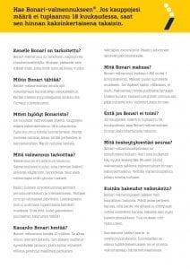 Bonari-esite, sivu 3