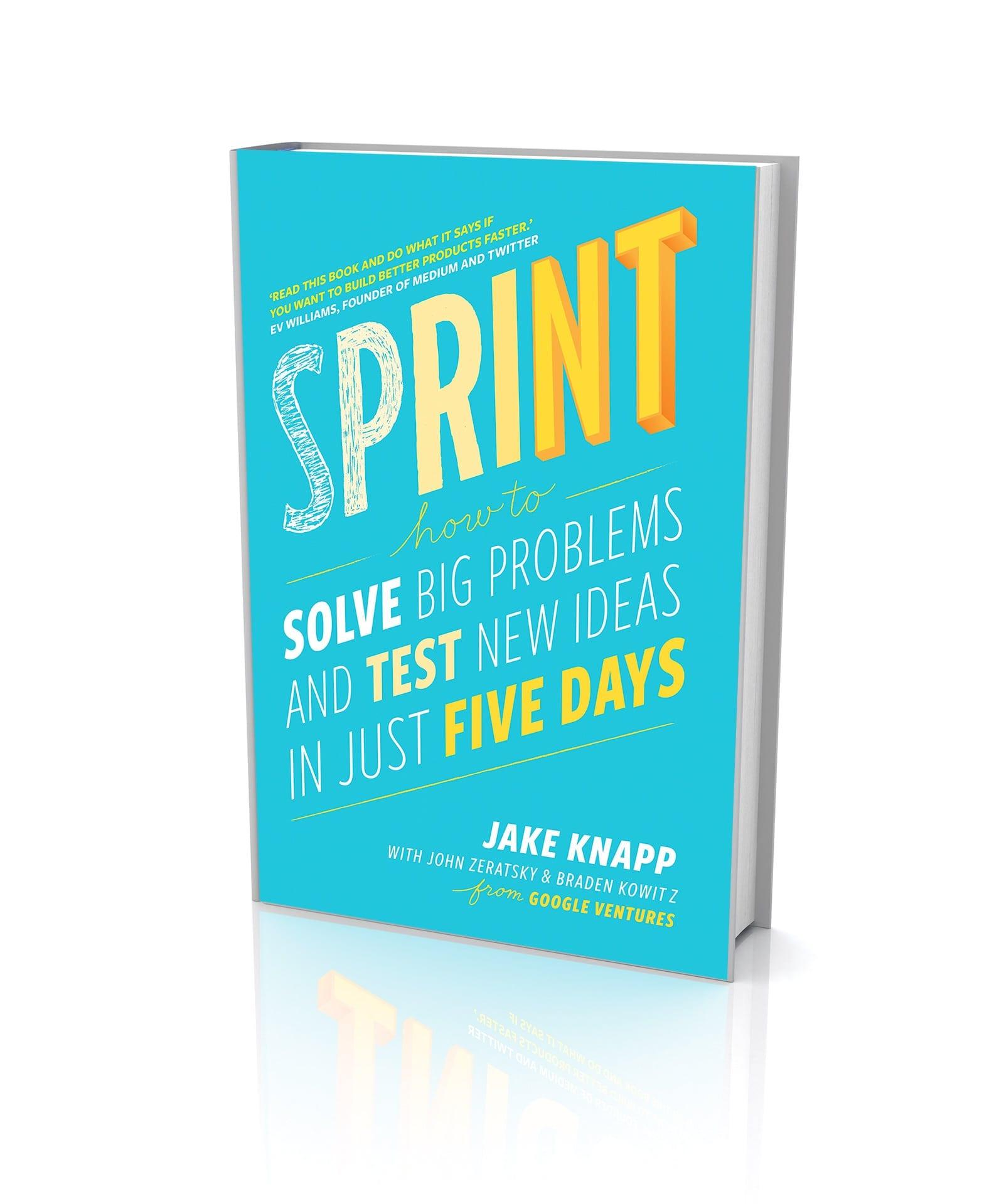 Maaliskuun lukupiirissä ruodittavana Sprint (Jake Knapp)