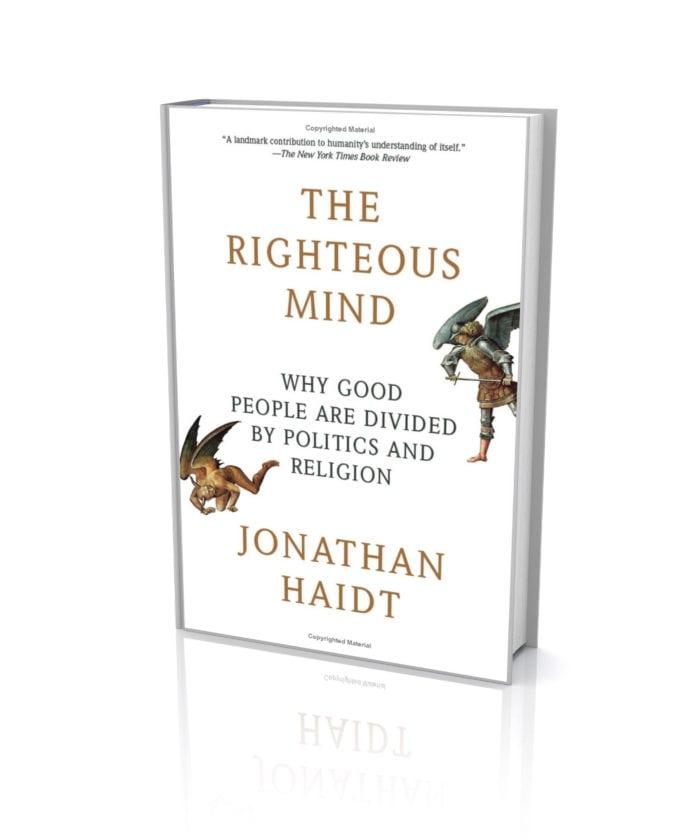 Jonathan Haidt kertoo kirjassaan The Righteous Mind mainioita esimerkkejä siitä, miten ihmisen tietoinen mieli yrittää selittää kaikenlaisia alitajunnasta kumpuavia (epämiellyttäviä) tuntemuksia.
