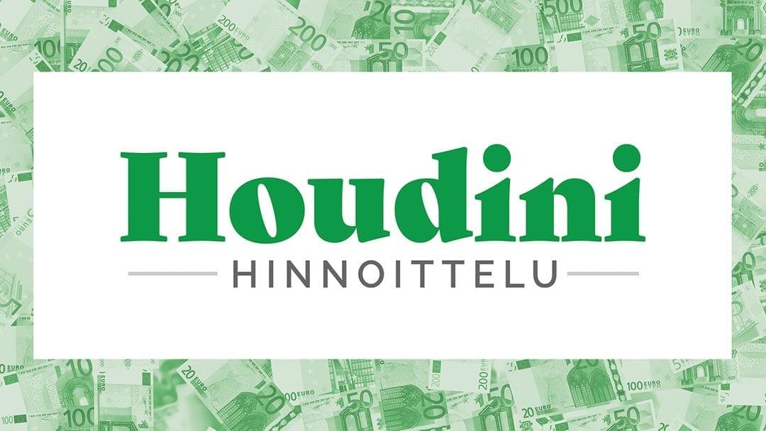 Katkaise kurjuuden kierre. Tilaa Jari Parantaisen Houdini-hinnoittelu-verkkovalmennus.