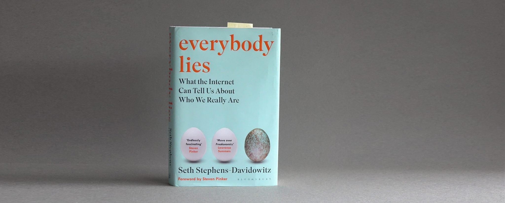 Everybody Lies oli vuoden 2017 tärkein bisneskirja